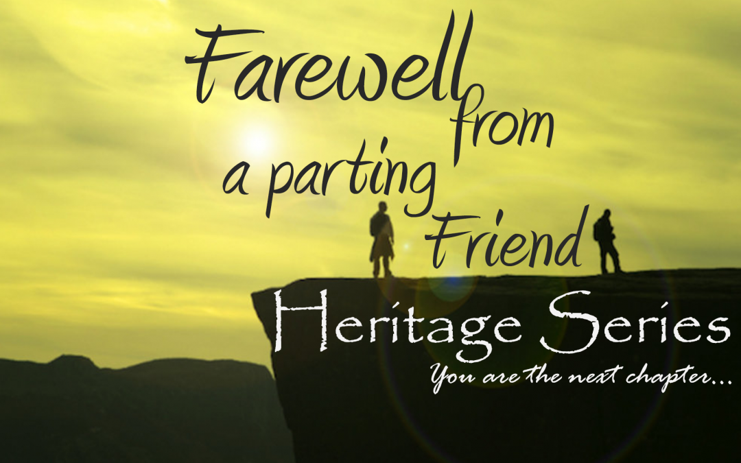 Farewell From A Parting Friend